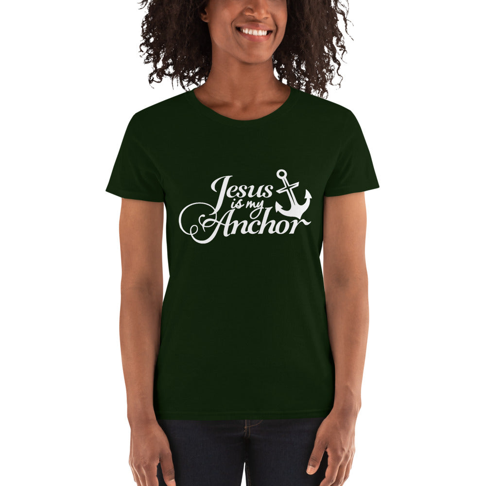 Jesus is my Anchor Women's T-shirt - B Inspired Boutique