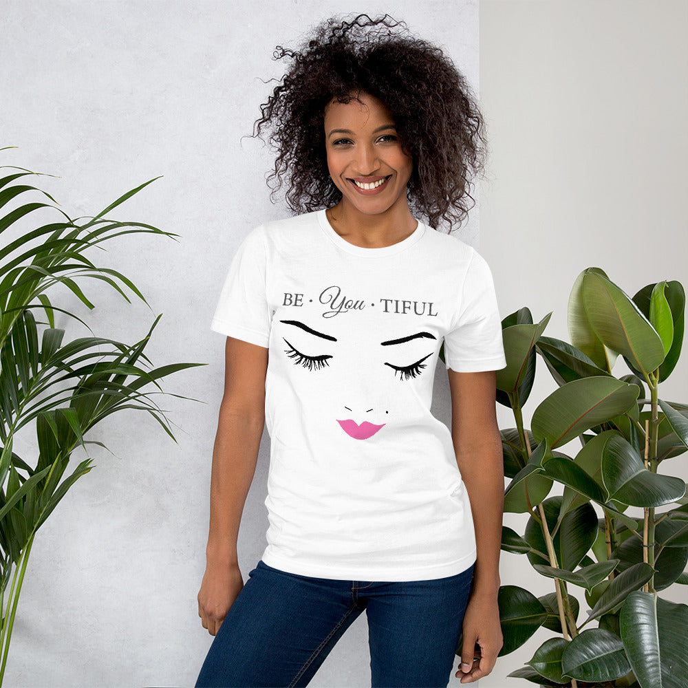 Be-YOU-Tiful Ladies Unisex T-Shirt - B Inspired Boutique