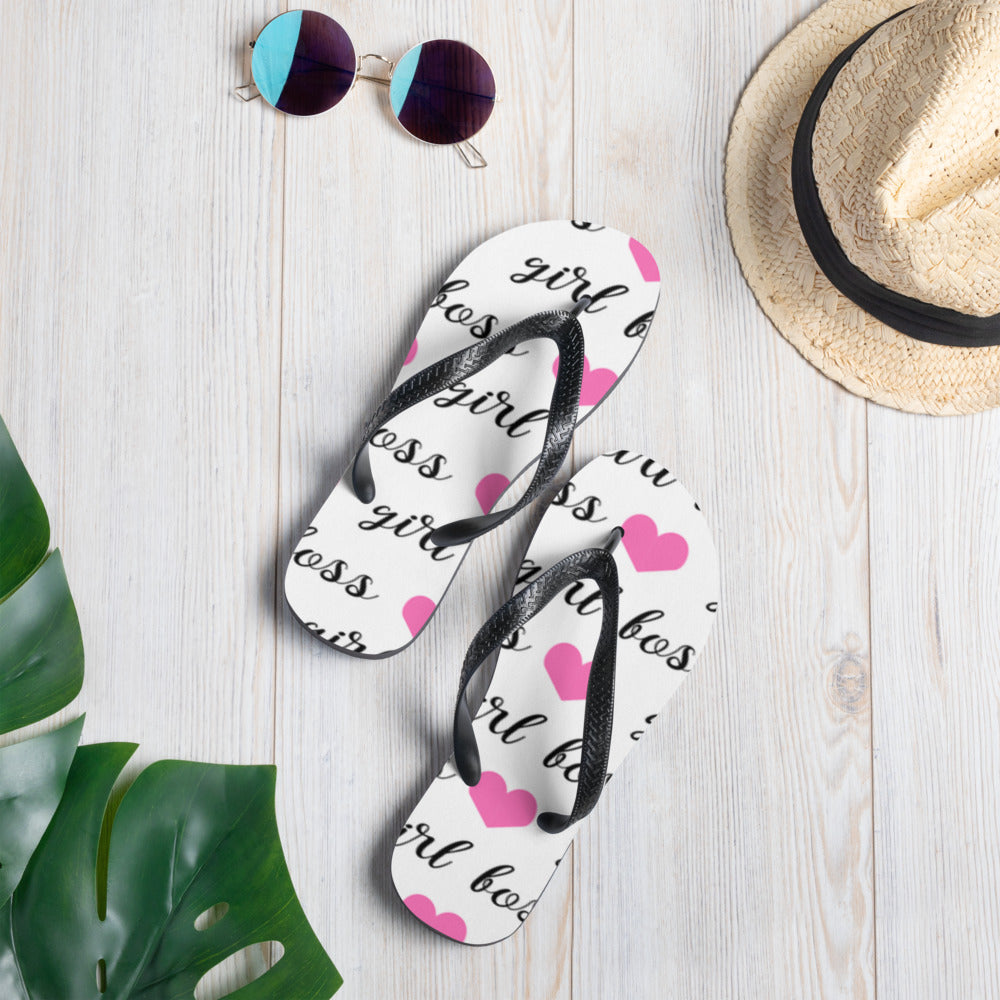 Girl Boss Flip-Flops - B Inspired Boutique