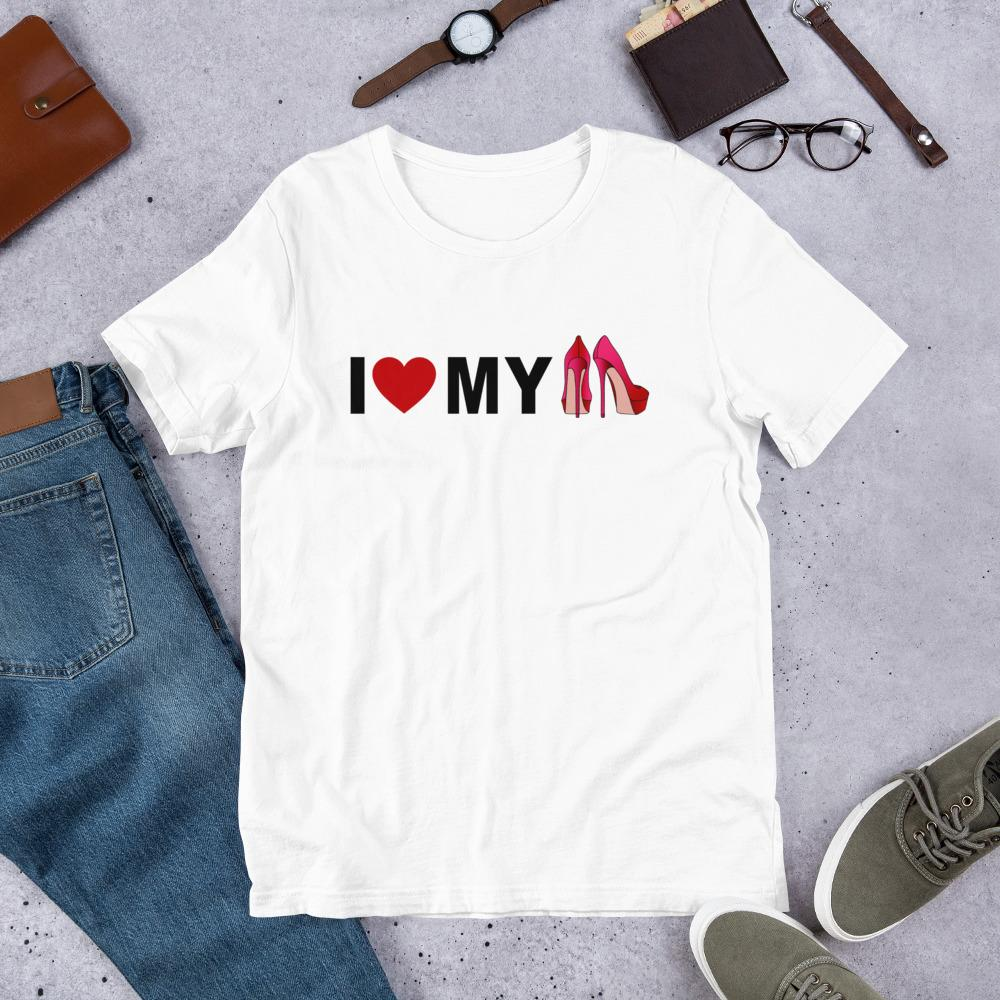 I Love my Heels Ladies T-Shirt - B Inspired Boutique