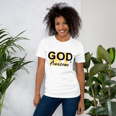 My God is Awesome Ladies Tee - B Inspired Boutique