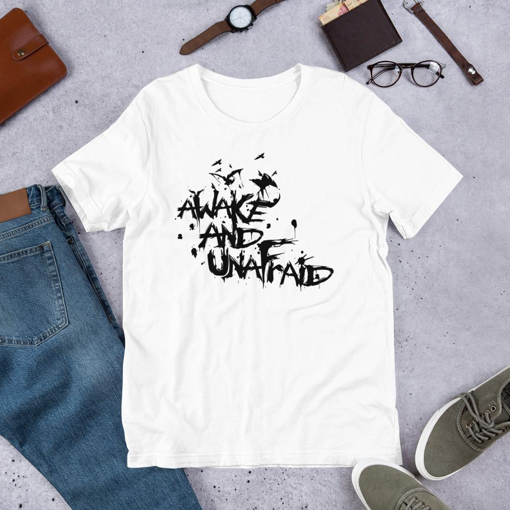 Awake and UnAfraid Ladies T-Shirt - B Inspired Boutique