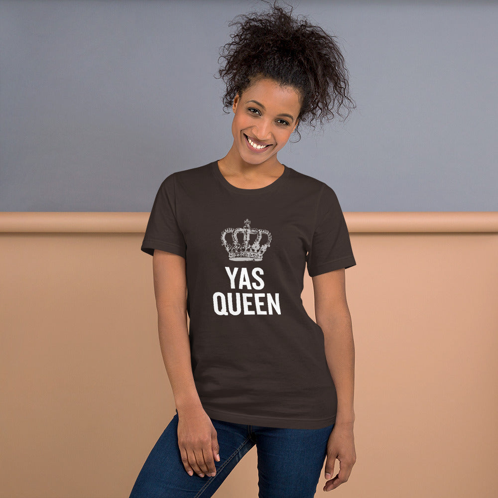 YAS Queen Ladies T-Shirt - B Inspired Boutique