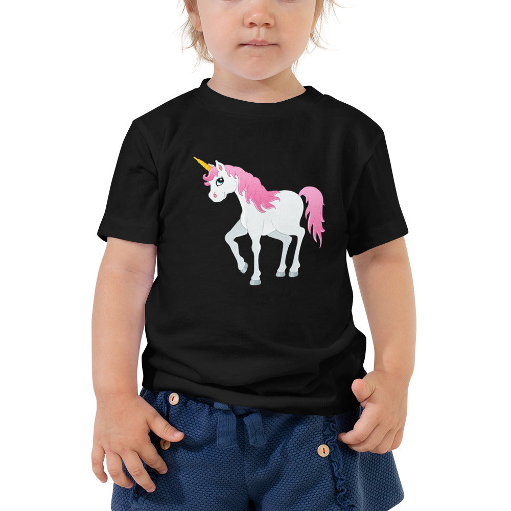 Baby Unicorn Toddler Short Sleeve Tee - B Inspired Boutique