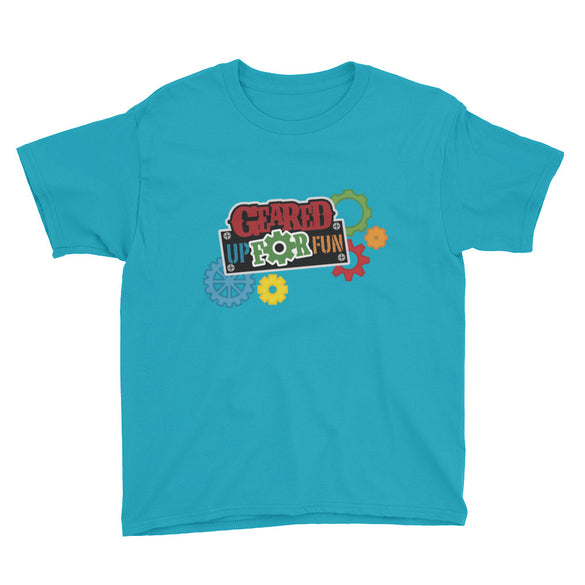 Geared Up for Fun Youth Short Sleeve T-Shirt - B Inspired Boutique
