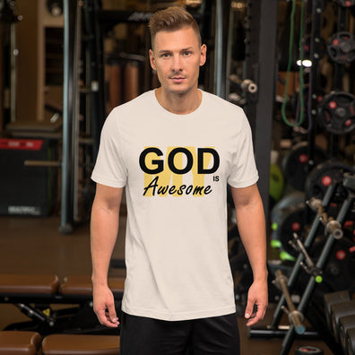 My God is Awesome Mens T-Shirt - B Inspired Boutique