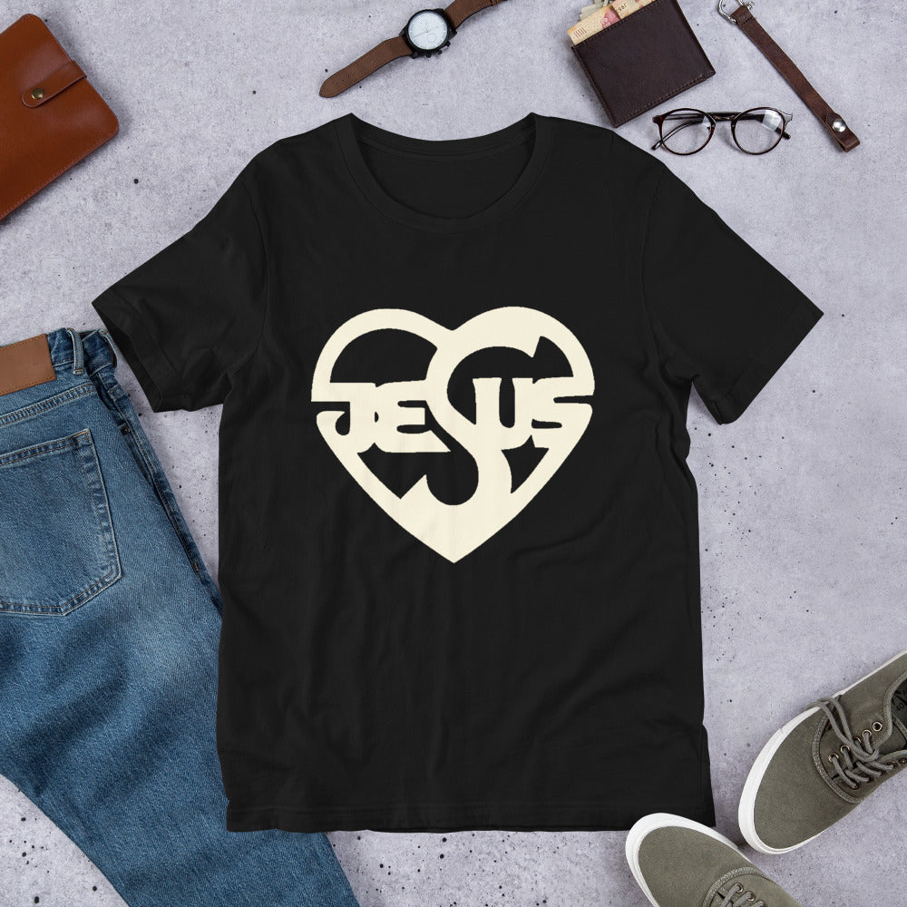 Jesus Heart Ladies T-Shirt