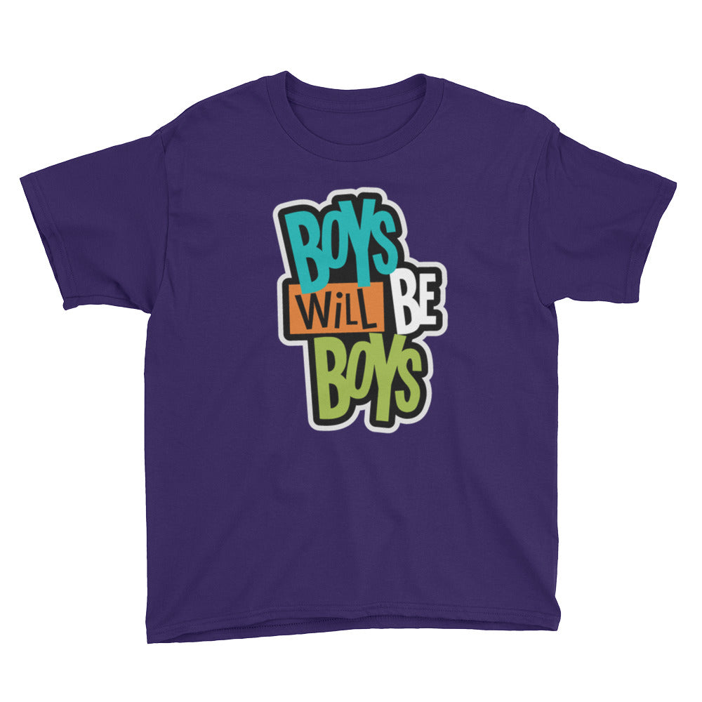 Boys Will Be Boys Youth Short Sleeve T-Shirt - B Inspired Boutique