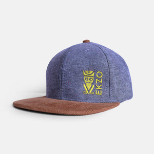 Corduroy Hat - Denim - B Inspired Boutique