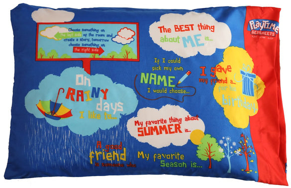Playtime Pillow Case - Blue - B Inspired Boutique