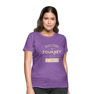 Success is a Journey Women's T-Shirt - purple heather