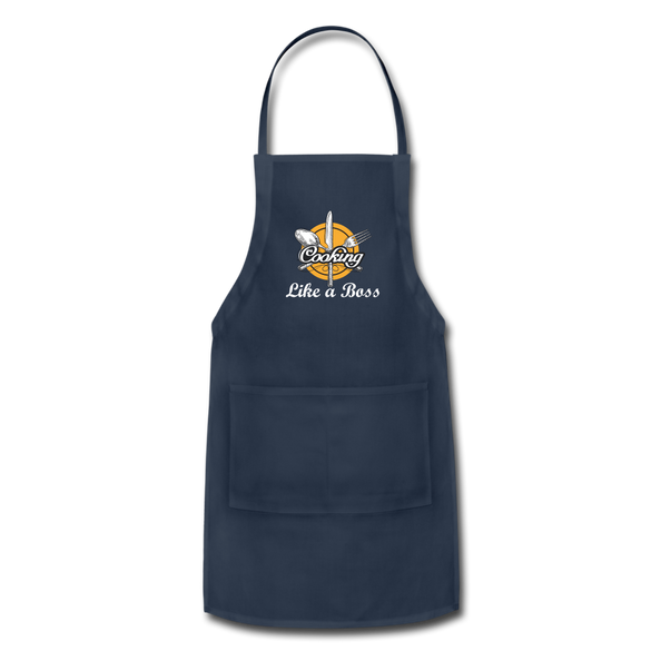 Cooking Like a Boss  Adjustable Apron - B Inspired Boutique