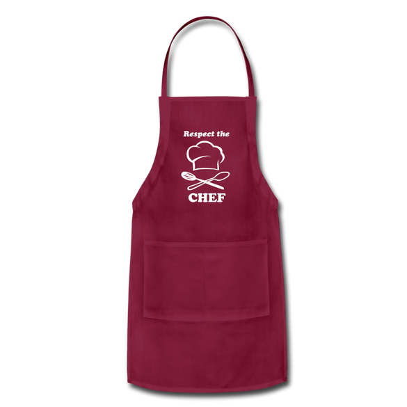 Respect the CHEF Adjustable Apron - B Inspired Boutique