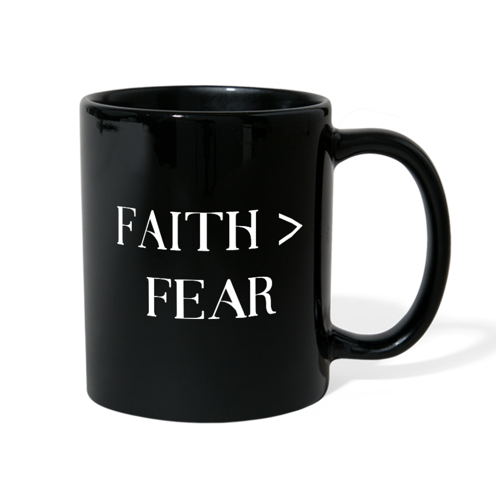 Faith Greater than Fear Color Mug - B Inspired Boutique