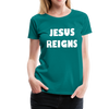 Jesus Reigns Premium T-Shirt - B Inspired Boutique
