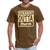 Straight Outta Church Men's T-Shirt - brown