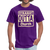 Straight Outta Church Men's T-Shirt - purple