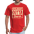 Straight Outta Church Men's T-Shirt - red