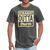 Straight Outta Church Men's T-Shirt - heather black
