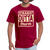 Straight Outta Church Men's T-Shirt - dark red