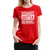 Straight Outta School Women's Premium T-Shirt - red