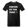 Farter of the Year, I mean Father Men's Premium T-Shirt - charcoal gray