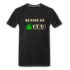 Runnin on .... Men's Premium T-Shirt - black