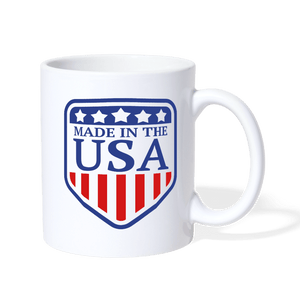 Made in the USA Coffee Mug - white