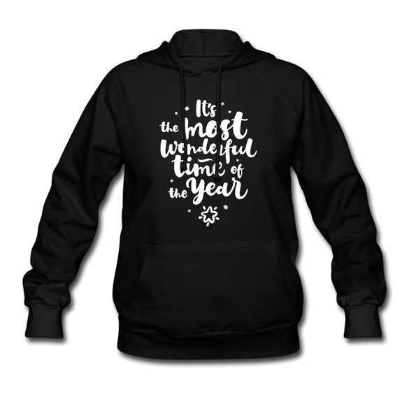 The Most Wonderful Time of the Year Women's Hoodie - black
