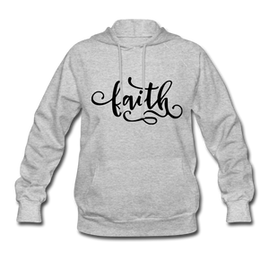 Faith Women's Hoodie - heather gray