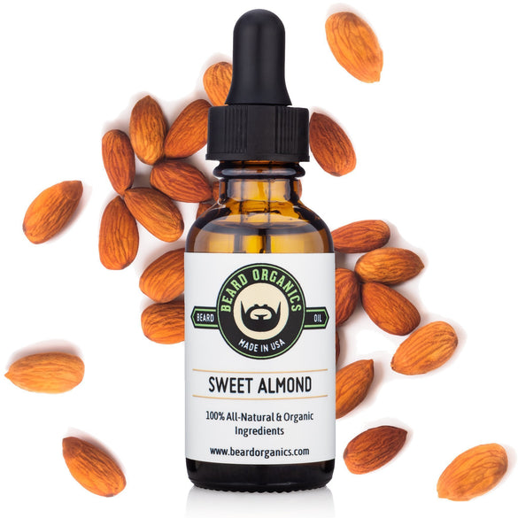 Sweet Almond Beard Oil - Fragrance-Free - B Inspired Boutique