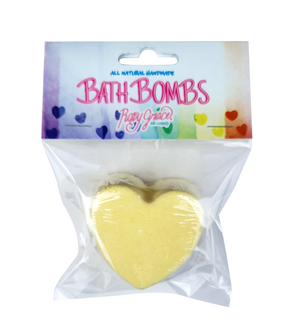 Yellow Heart Bath Bomb