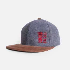 Corduroy Hat - Gray - B Inspired Boutique