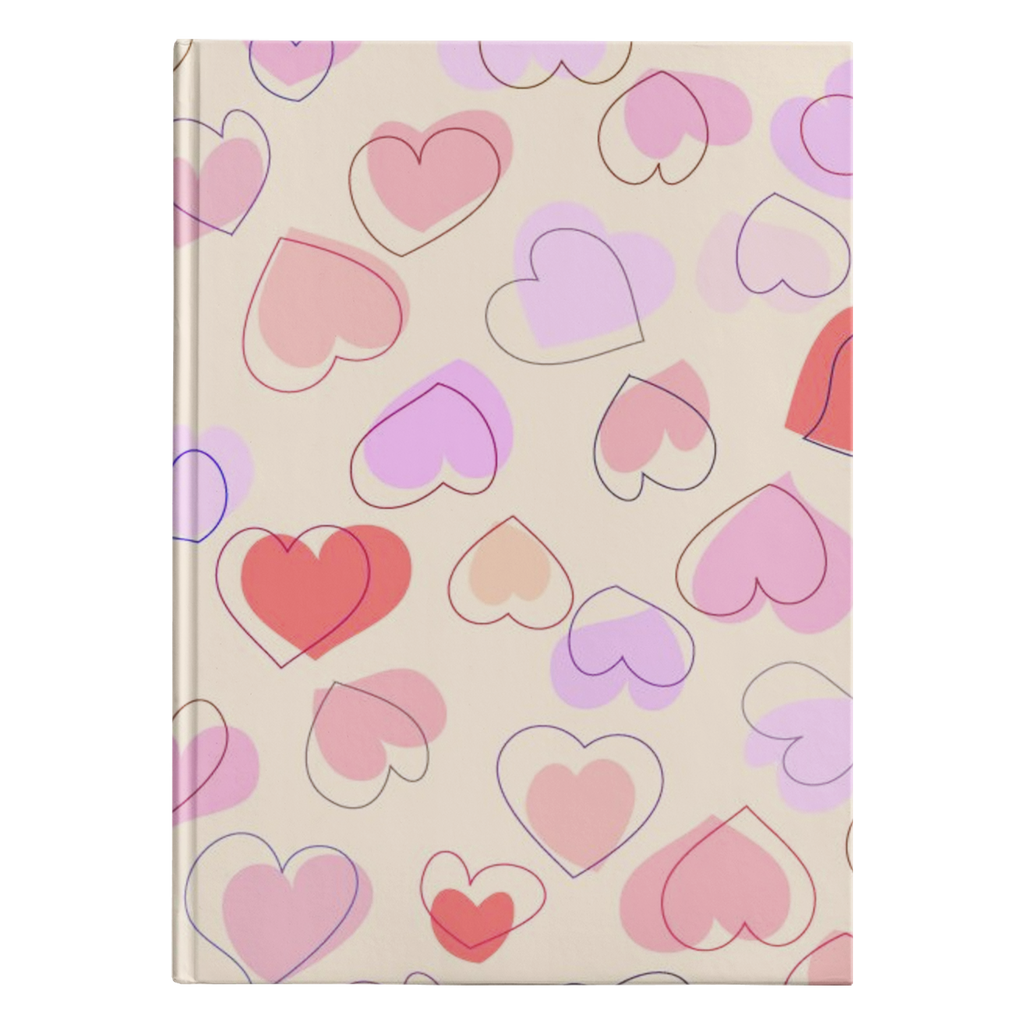 Painted Hearts Journal - B Inspired Boutique