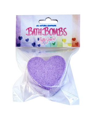 Purple Heart Bath Bomb