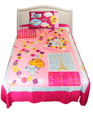 Playtime Bed Sheets - Pink - B Inspired Boutique