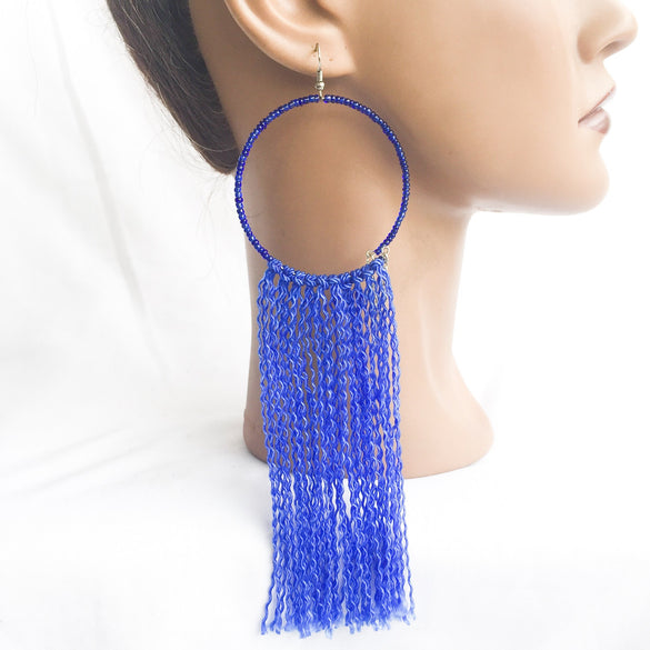 Tiombe Hoop Earrings