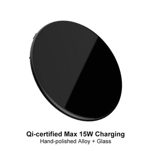 15W QI Quick Charging Wireless Fast Charger - HammyPhoneStuff
