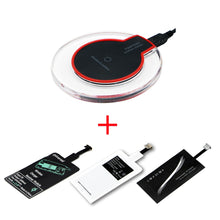 Load image into Gallery viewer, Qi Wireless Charging Kit Type-C Micro USB Kit - HammyPhoneStuff