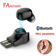 Load image into Gallery viewer, FANGTUOSI Mini Bluetooth Earbud - HammyPhoneStuff