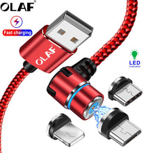 Load image into Gallery viewer, OLAF Magnetic USB Cable - HammyPhoneStuff