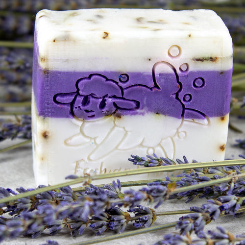 Lavender Field Single Bar
