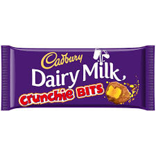 Cadbury Dairy Milk - Crunchie Bits Slab 200g