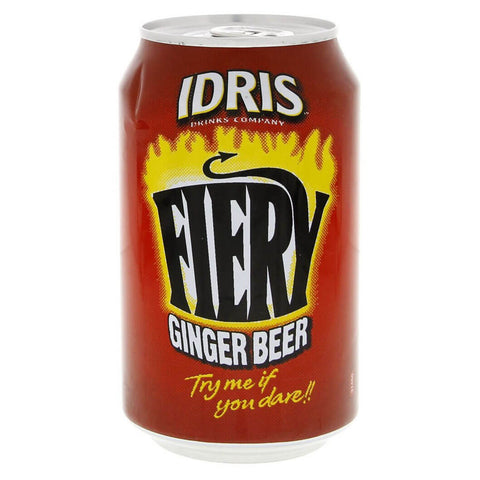 Idris Ginger Beer Firery 330ml