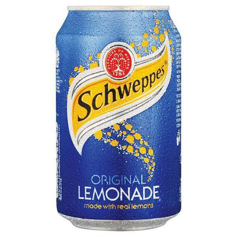 Schweppes Lemonade - Can 330ml