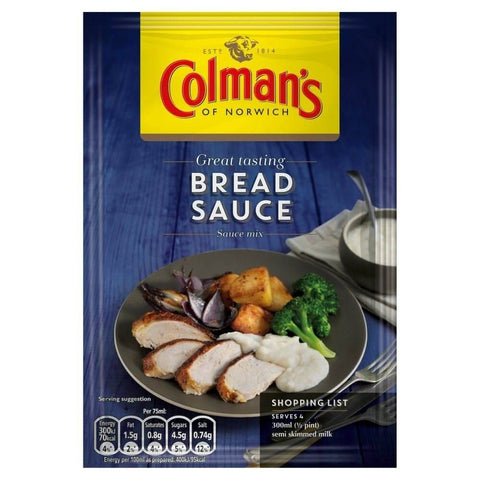 Colmans Seasoning Mix - Bread Sauce 40g