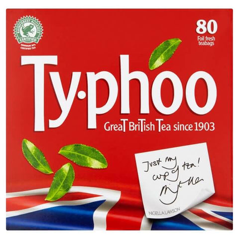 Typhoo Tea Bags (Pack of 80) 232g