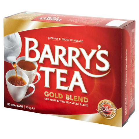 Barrys Gold Tea Bags (Pack of 80) 250g