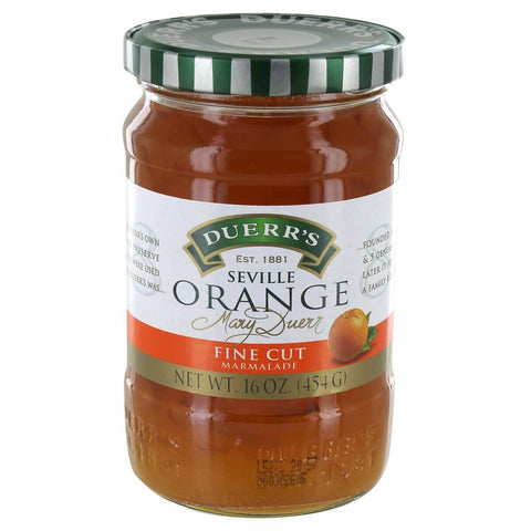 Duerrs Marmalade - Fine Cut Seville Orange 454g