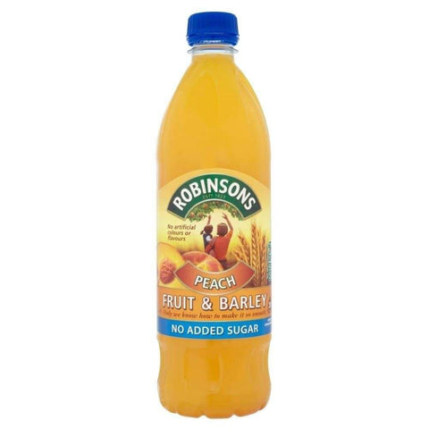 Robinsons Squash - Barley Peach No Added Sugar 1L